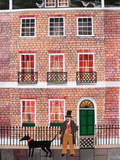 Dickens in Doughty Street by Amanda White