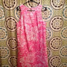 Skinny dippin Janie dress Perfect condition. Price is firm! Lilly Pulitzer Dresses Midi