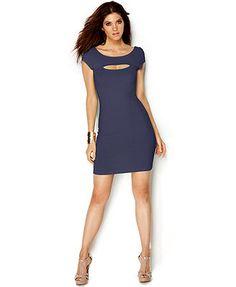 GUESS Cutout Sheath Dress Macys $55