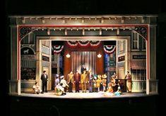 The Music Man. Maltz Jupiter Theatre. Scenic design by Paul Tate dePoo III. 2012