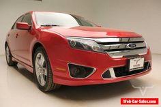 2010 Ford Fusion Sport Sedan 4-Door #ford #fusion #forsale #unitedstates