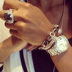 David Yurman - loving the watch and the ring...
