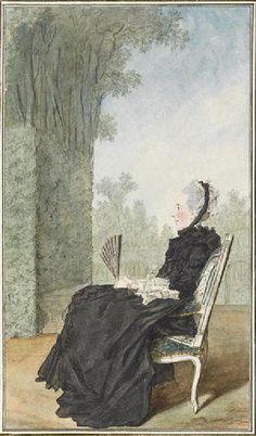 La Marquise douairière de Montpezat / By Carmontelle.