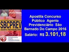 Apostila Concurso Público  Agente Previdenciário  [São Bernado Do Campo ...