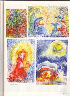 Crayon Drawings, Chalk Drawings, Art Drawings, Form Drawing, Painting & Drawing, Chalkboard Drawings, Wax Crayons, Drawing For Kids, Art World