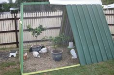 This DIY chicken coop is cheap and really easy to make!
