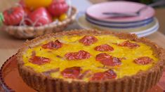 Get all the recipes from John and Lisa's Weekend Kitchen. John Torode and Lisa Faulkner host Sunday mornings from their cosy kitchen Ritz Biscuits, Savoury Biscuits, Savoury Baking, Savoury Pies, Galletas Ritz, Bacon Pan, Cream Crackers, Flan Recipe, Banoffee Pie