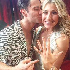 CONGRATS!: 'Dancing With the Stars' Pros Emma Slater and Sasha Farber are Engaged