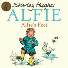 Alfie's Feet: Shirley Hughes: 9781862307841: Amazon.com: Books Shirley Hughes, School Reception, Yellow Rain Boots, Yellow Wellies, Gabriel Garcia Marquez, Book Challenge, World Of Books, Character Development, Twilight Sparkle