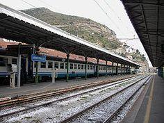ventimiglia | Ventimiglia railway station - Jan and I traveled by train through Europe. 1972