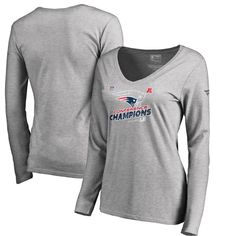 New England Patriots NFL Pro Line by Fanatics Branded Women s 2017 AFC  Champions Trophy Collection Locker 089025a0d