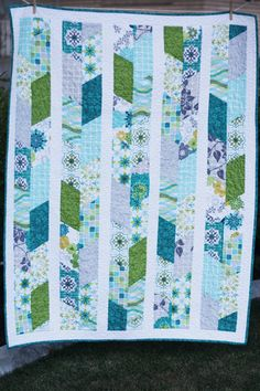 Nina Quilt Pattern. Shown here using Sanctuary fabrics, several of which I have.