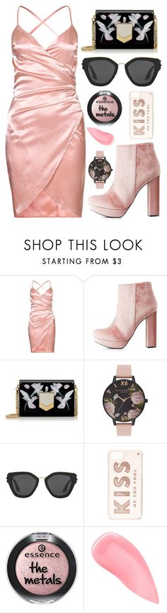 """HAPPY VALENTINES DAY"" by nerd-ville ❤ liked on Polyvore featuring Charlotte Russe, Jimmy Choo, Olivia Burton, Prada, Kate Spade and Kevyn Aucoin"