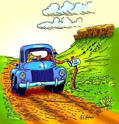 Hank the Cowdog, over 50 books in this series and they are all a hoot!