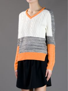 Carven Contrast Sweater