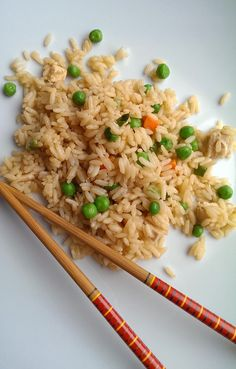 Kitchen Confidential: Secrets for BEST Chinese Fried Rice :: YummyMummyClub.ca Rice In The Microwave, Dried Scallops, Vegetarian Side Dishes, Kitchen Confidential, How To Cook Ham, Recipe From Scratch, Good Enough To Eat, Asian, Meat Lovers