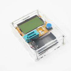 Купить товарMega328 Транзистор Тестер Диод Триод Емкость СОЭ Метр MOS/PNP/NPN L/C/R + Транзистор тестер Коробка хорошо работает бесплатная доставка в категории Мультиметрына AliExpress. особенности:дисплей 128*64 ЖК-ДИСПЛЕЙ с подсветкой в желто-зеленый цвет.создано 9 В слой-встроенный аккумулятор. 2 лити