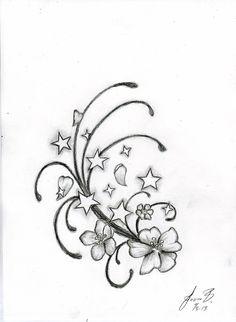 Natta's star tattoo design no 2 by katatsumuri-hime on deviantART
