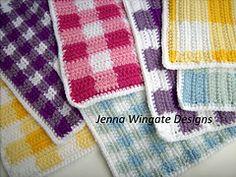 Ravelry: Gingham Dreams pattern by Jenna Wingate ༺✿ƬⱤღ✿༻