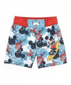 Another great find on #zulily! Mickey Mouse Swim Trunks - Infant by Mickey Mouse #zulilyfinds