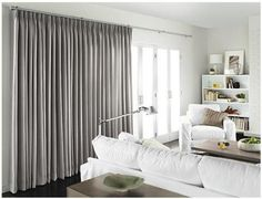 Sometimes all you need are some nice shades. These grey shades really do well in this mostly white space. They stand apart; this is simple design at it's finest.
