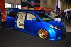 Toyota reveals 6 extreme vehicles at 2016 SEMA Show [Live Photos] Honda Van, Toyota Van, Toyota Previa, Luxury Private Jets, Honda Odyssey, African American History, Native American, Bmw M4, Car Photos