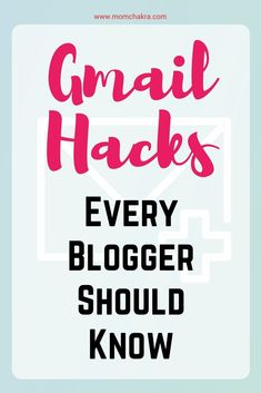 Gmail is the email service of choice for millions of users around the world. This post lists 7 Gmail hacks to improve everyday productivity. Creating A Business, Business Tips, Online Business, Gmail Hacks, How To Start A Blog, How To Make Money, Productivity Hacks, Blog Topics, Time Management Tips