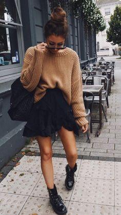 Women's Fashion Outfits Ideas - Fashion Ideas Casual Fall Outfits, Winter Fashion Outfits, Fall Winter Outfits, Spring Outfits, Trendy Outfits, Autumn Fashion, Summer Outfit, Fashion Mode, Look Fashion