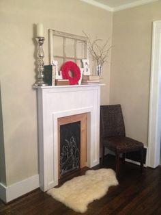 Building Simple.: Faux Fireplace