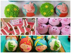 Docinhos Para Festa da Peppa Pig