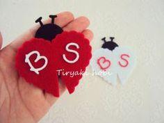 ♥ Tiryaki Hobi ♥: Keçe nikah şekeri