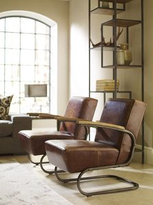 From Left to Right: Miles club chair, Helena bookcase