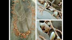 DIY -Collana Coralling con perline e conchiglie