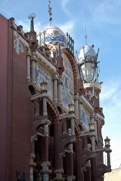 Palau de la Música Catalana | architect Liuis Domenech - Barcelona,  Catalonia, Spain ,!!  Flickr  - photo sharing....