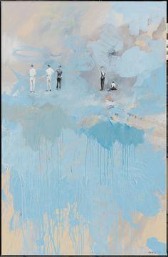 Leszek Skurski, Lonely Stone, 2017 Oil on canvas, cm Lonely, Oil On Canvas, Stone, Portrait, Abstract, Artwork, Painting, Paint, Art