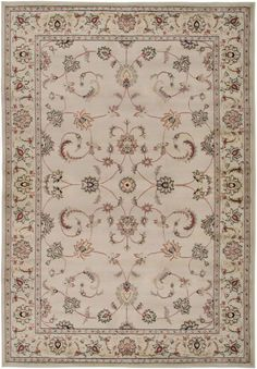 Rizzy Home BS3580 Bayside Power Loomed Polypropylene Rug Ivory