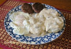 Gravy can be made with either sausage drippings or bacon drippings. 3 tablespoons sausage or bacon drippings 3 tablespoons flour 2 1/2 cups ...