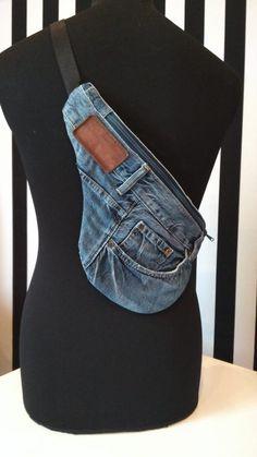 Sacs Tote Bags, Denim Tote Bags, Blue Jean Purses, Denim Backpack, Estilo Hippie, Diy Jeans, Denim Ideas, Denim Crafts, Linen Bag