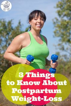 Here's what you need to know about postpartum weight loss. (We LOVE #1.)   via @FitBottomedGirl
