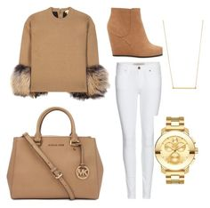 Untitled #6 by audreytaylorb-1 on Polyvore featuring polyvore, Mode, style, Michael Kors, Burberry, Forever 21, Movado and Kristen Elspeth