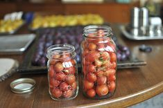 Five Ways to Preserve Small Tomatoes