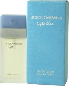 D & G Light Blue By Dolce & Gabbana For Women. Eau De Toilette Spray 3.4 Ounces  $69.54