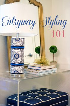 How to style your entryway 3 different styles
