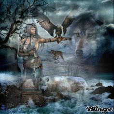 Indian wolves Blingee | Indian Wolf Spirit