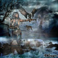 Indian Wolf Spirit