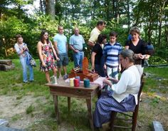 Boone Heritage Festival, Sunday, October 11, 2015, at Hickory Ridge Living History Museum, 591 Horn in the West Drive, Boone. #music #crafts #old-time #tradition