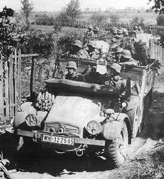 Protze on the move   by GLORY. The largest archive of german WWII images