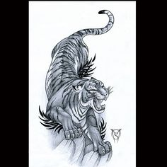 Looking forward to this #tiger #tattoo #tigertattoo #tattoodesign
