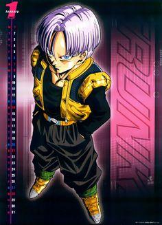 Collection of high quality Dragon Ball Z anime calendars. Dragon Ball Z, Db Z, Popular Anime, Goku, Trunks, Cartoon, Superhero, Manga, Comics