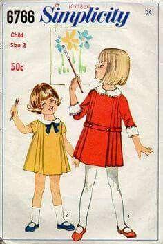 Fotos moda infantil antigua